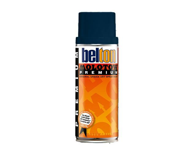 MOLOTOW PREMIUM 400ML 106 ECB PRUSSIAN BLUE DARK 1