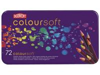 DERWENT COLOURSOFT BUNTSTIFTE 72ER METALLKASTEN