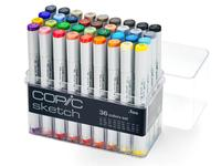 COPIC SKETCH BASIS SET 36-ER