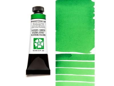 DANIEL SMITH S1 AQUARELLFARBE 15ML 067 PERMANENT GREEN LIGHT 2